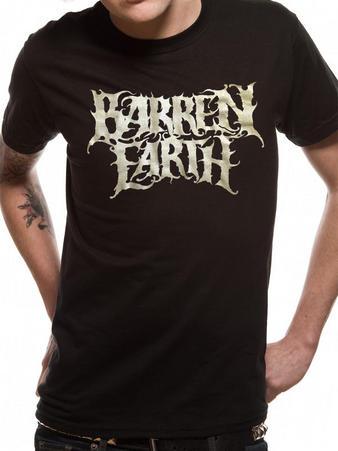 Barren Earth (Silver Logo) T-shirt