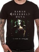 Sarah Jezebal Diva (album) T-shirt Thumbnail 1