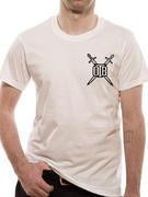 Obey The Brave (Bike Club White) T-shirt Thumbnail 1