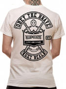 Obey The Brave (Bike Club White) T-shirt Thumbnail 2