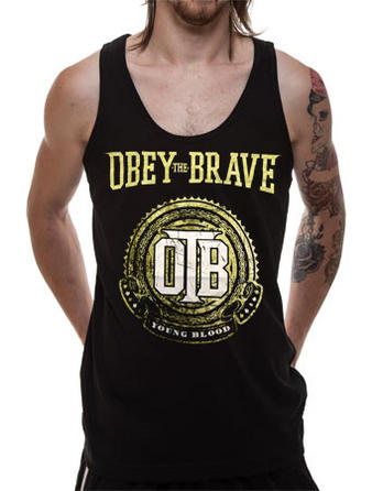 Obey The Brave (Crest) Vest Preview