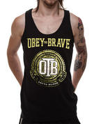 Obey The Brave (Crest) Vest