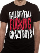 Fall City Fall (Crazy) T-shirt