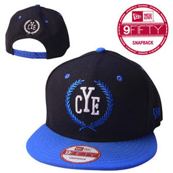 Close Your Eyes (Black and Blue) Cap