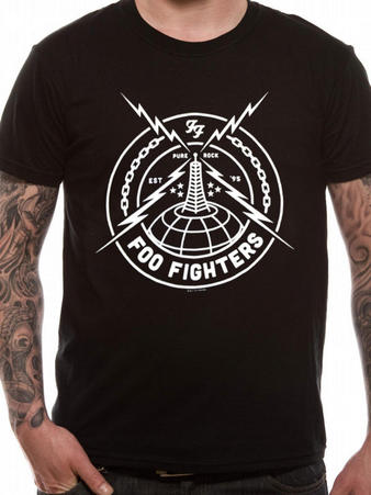 Foo Fighters (Black Strike) T-Shirt Preview
