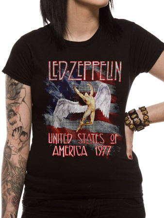Led Zeppelin (USA 77) T-Shirt Preview