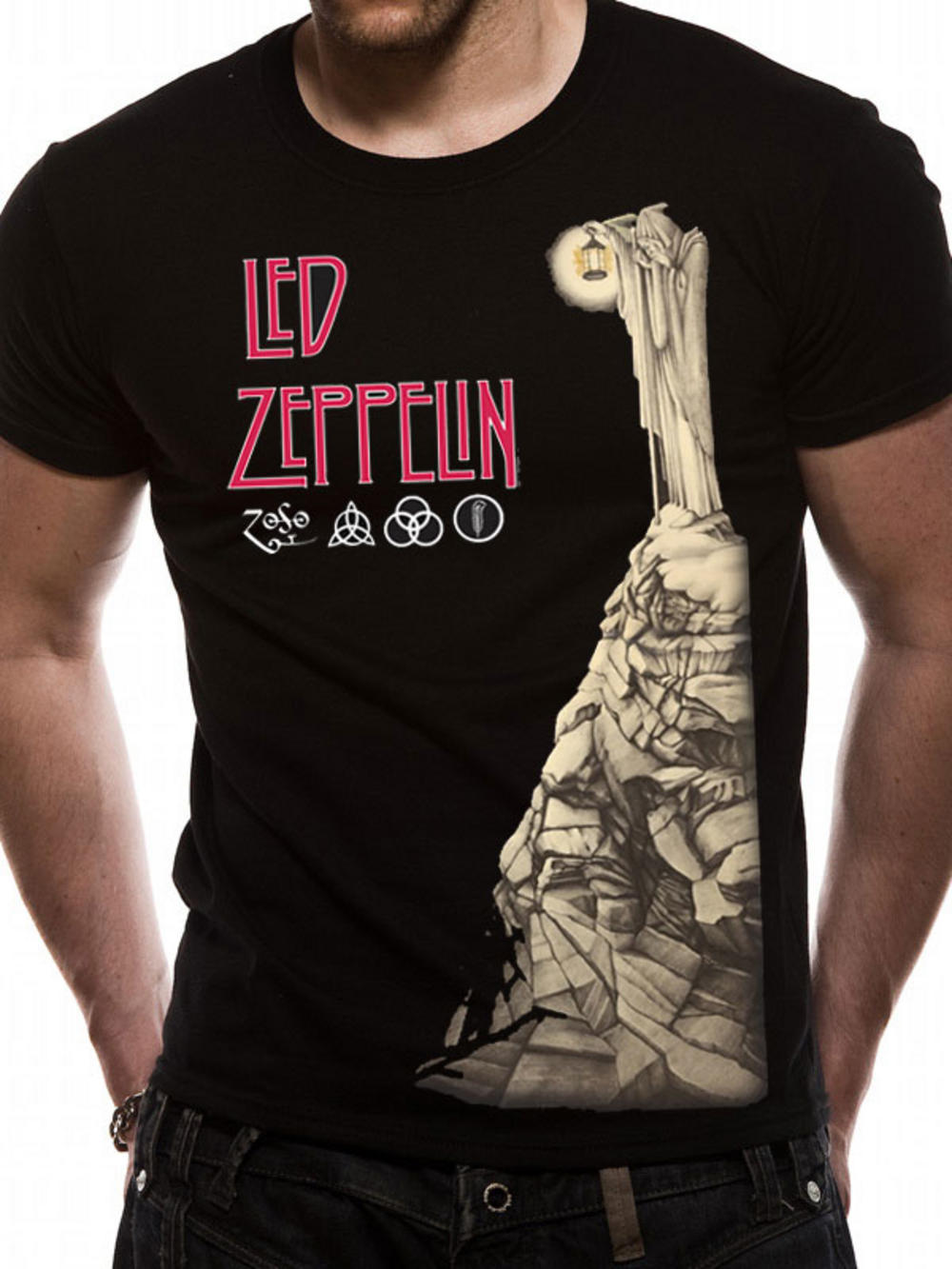 led zeppelin hermit t shirt tm shop. Black Bedroom Furniture Sets. Home Design Ideas