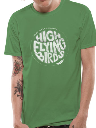 Official Noel Gallagher'S High Flying Birds Logo T Shirt - All sizes