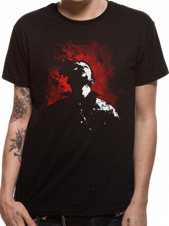 Walking Dead (Shot To The Head) T-Shirt Preview