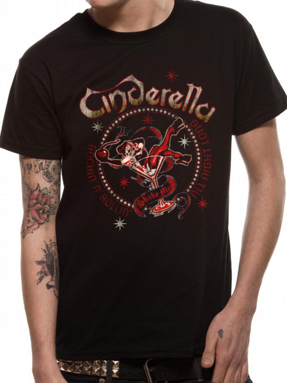 Cinderella shake me t shirt tm shop for Band t shirt designs for sale