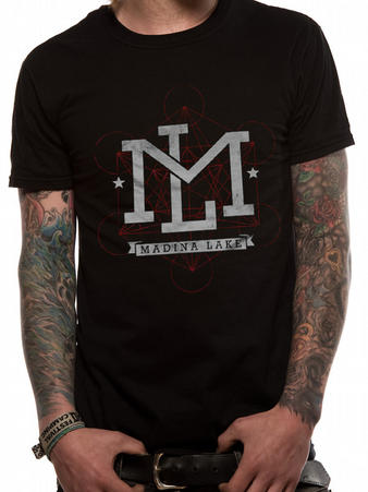 Madina Lake (Letters) T-Shirt Preview