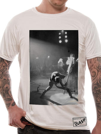 The Clash (Borderless Guitar Smash White) T-Shirt Preview