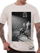 The Clash (Borderless Guitar Smash White) T-Shirt