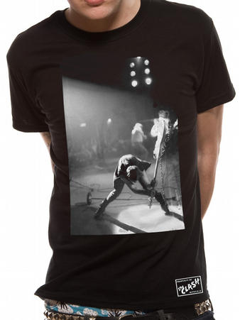 The Clash (Borderless Guitar Smash Black) T-Shirt Preview