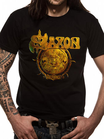 Saxon (Sacrifice Album) T-Shirt Preview