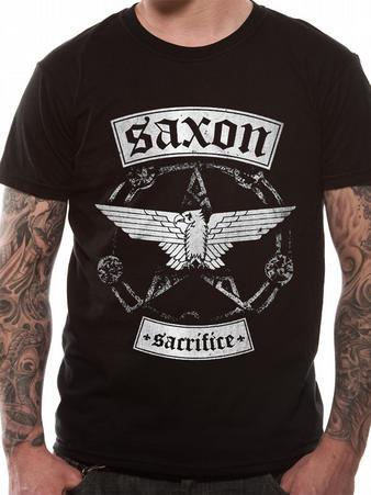 Saxon (Sacrifice Banner) T-Shirt Preview