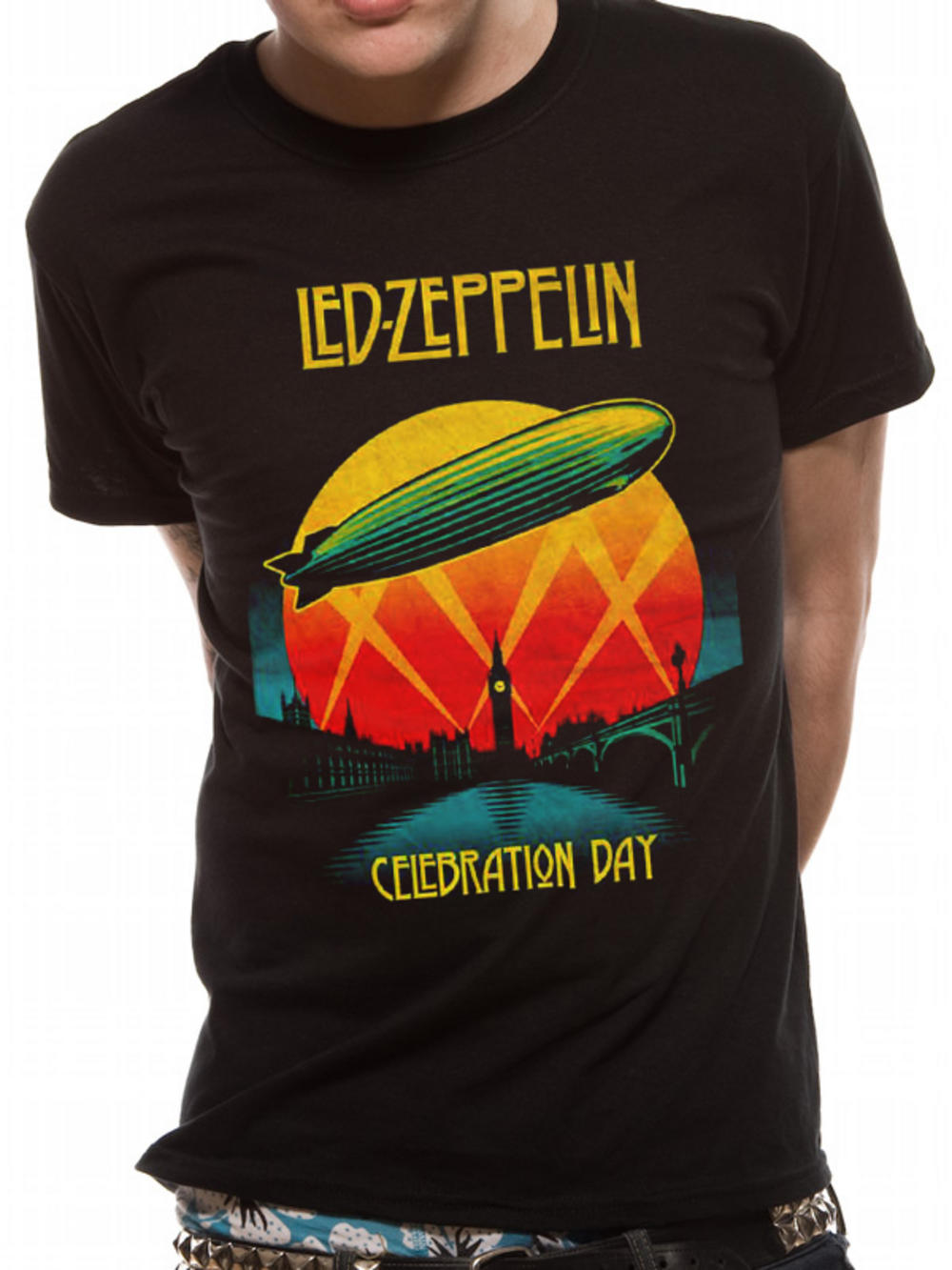 led zeppelin celebration day t shirt buy led zeppelin. Black Bedroom Furniture Sets. Home Design Ideas
