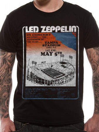 Led Zeppelin (Tampa Stadium) T-shirt Preview