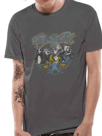 Aerosmith (Vintage Photo) T-shirt Preview