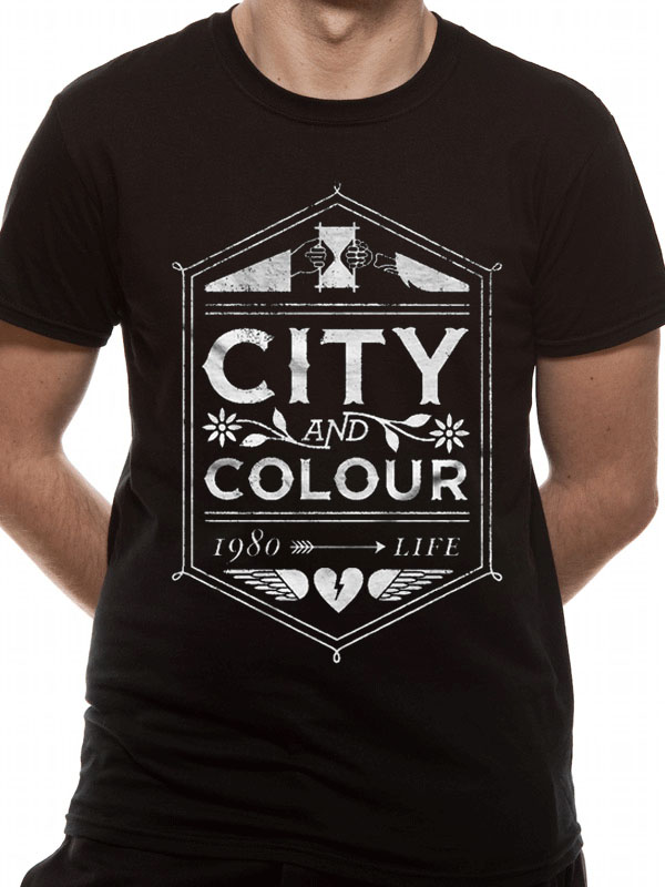 City and Colour Feather Eye T-Shirt Mens Black Casual Wear Top Tee Shirt See more like this CITY AND COLOUR CONCERT POSTER SCREEN PRINT LIVE Rock Flyer lp cd 45 t-shirt $