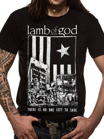 Lamb Of God (There Is No One Left To Save) T-shirt Preview