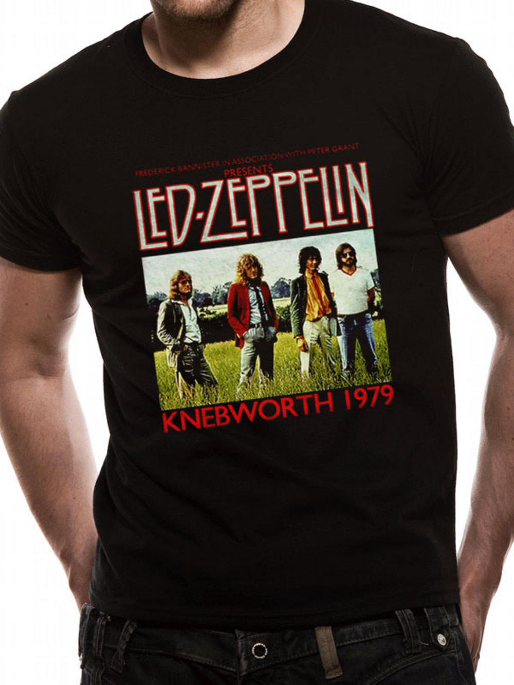 led zeppelin knebworth t shirt tm shop. Black Bedroom Furniture Sets. Home Design Ideas