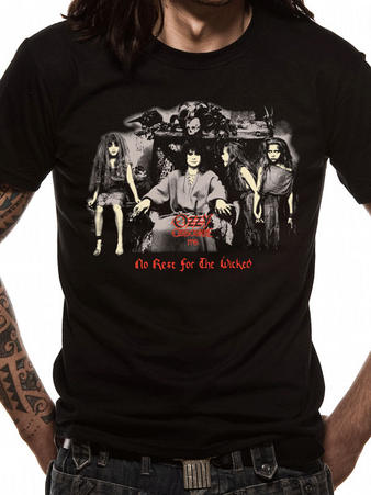 Ozzy Osbourne (Group Photo) T-shirt Preview
