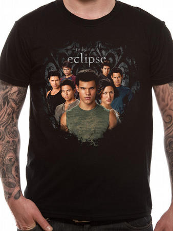 Official Eclipse (Wolf Pack Circle) T-Shirt Preview