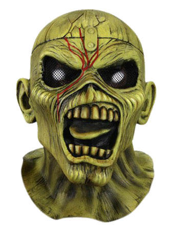 Iron Maiden Piece of Mind Mask Preview