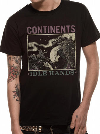 Continents (Idle Hands) T-shirt Preview