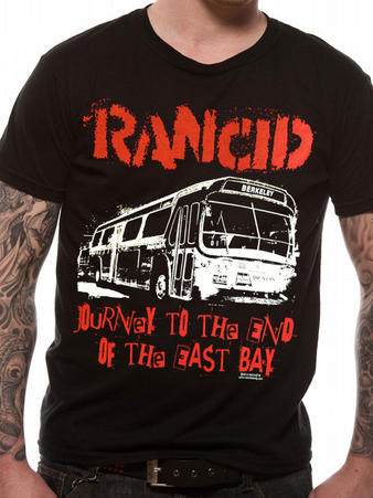 Rancid (Journey To The End Of The East Bay) T-shirt Preview