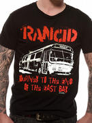 Rancid (Journey To The End Of The East Bay) T-shirt