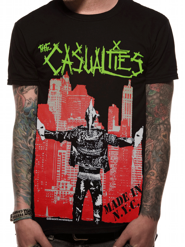 Official Casualties (Made In NYC) Imported T-shirt - All sizes