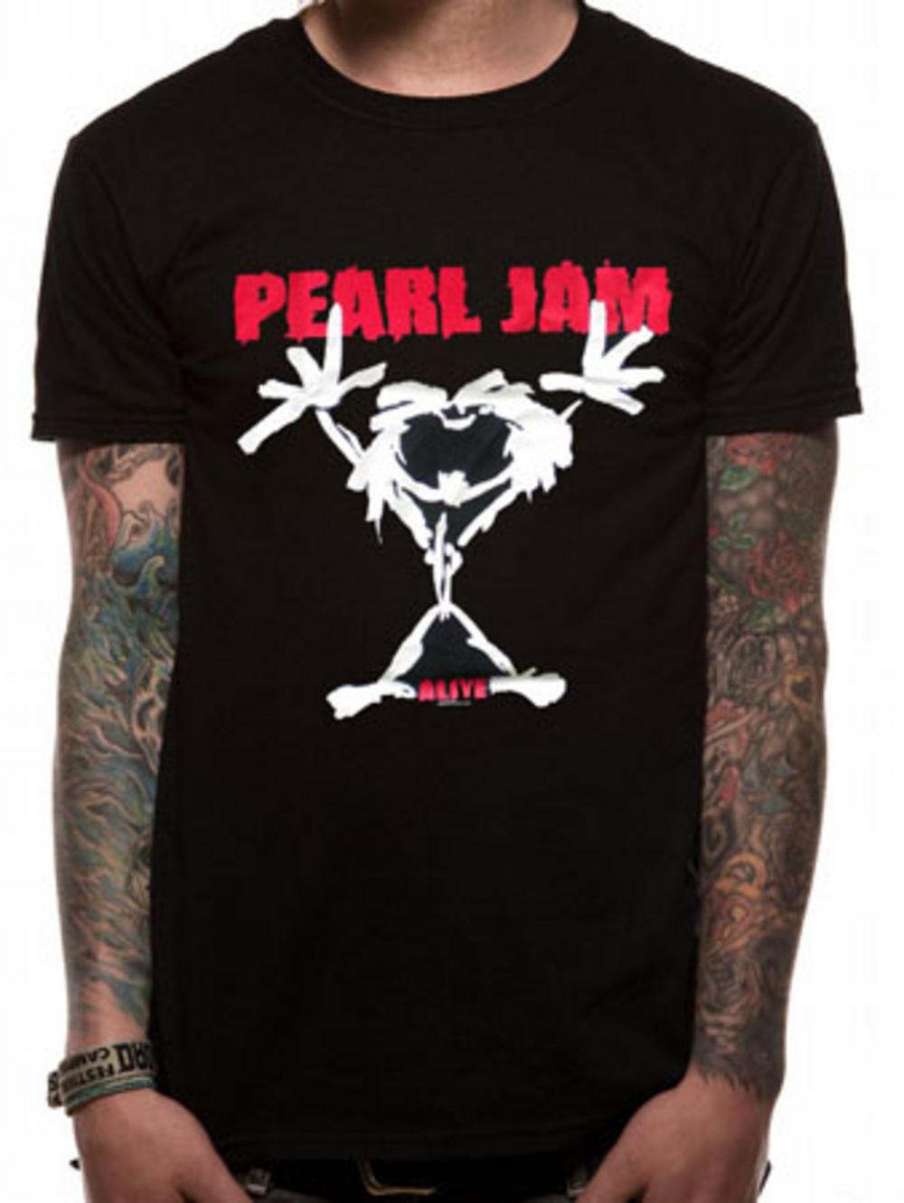 Pearl jam stick man t shirt tm shop for Atm t shirt sale