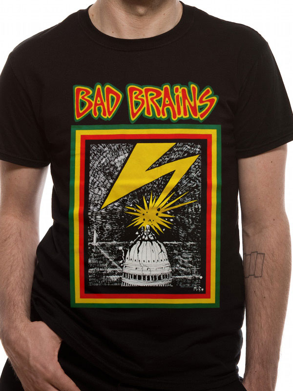 Official Bad Brains (Bad Brains) T-shirt - All sizes