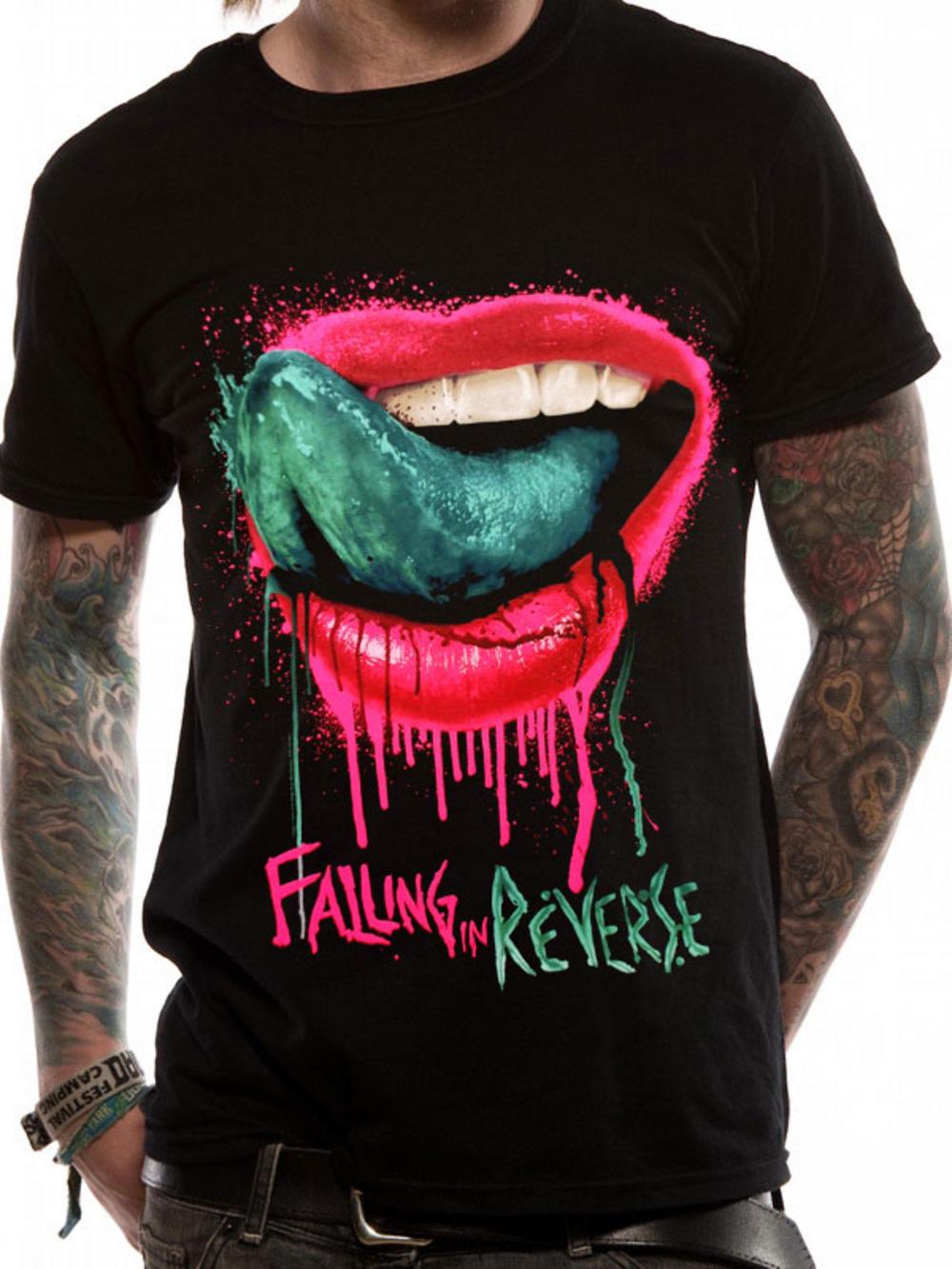 Falling In Reverse (Lips) T-shirt