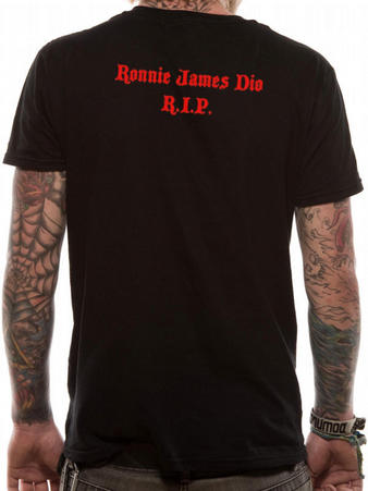 Dio (Ronnie James Dio RIP) T-Shirt Thumbnail 2