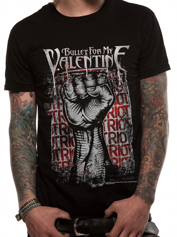 Bullet-For-My-Valentine-Riot-T-Shirt