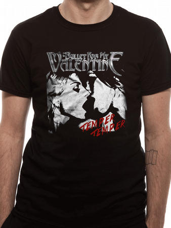 Bullet For My Valentine (Temper Temper Kiss) T-Shirt Preview