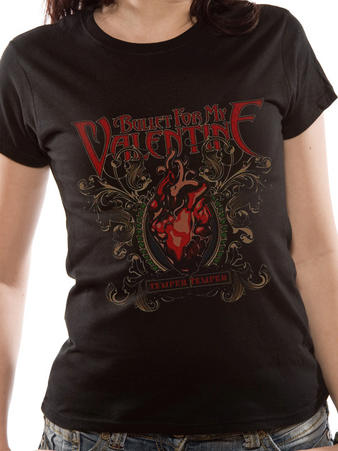 Bullet For My Valentine (Temper Temper Filigree) T-Shirt Preview