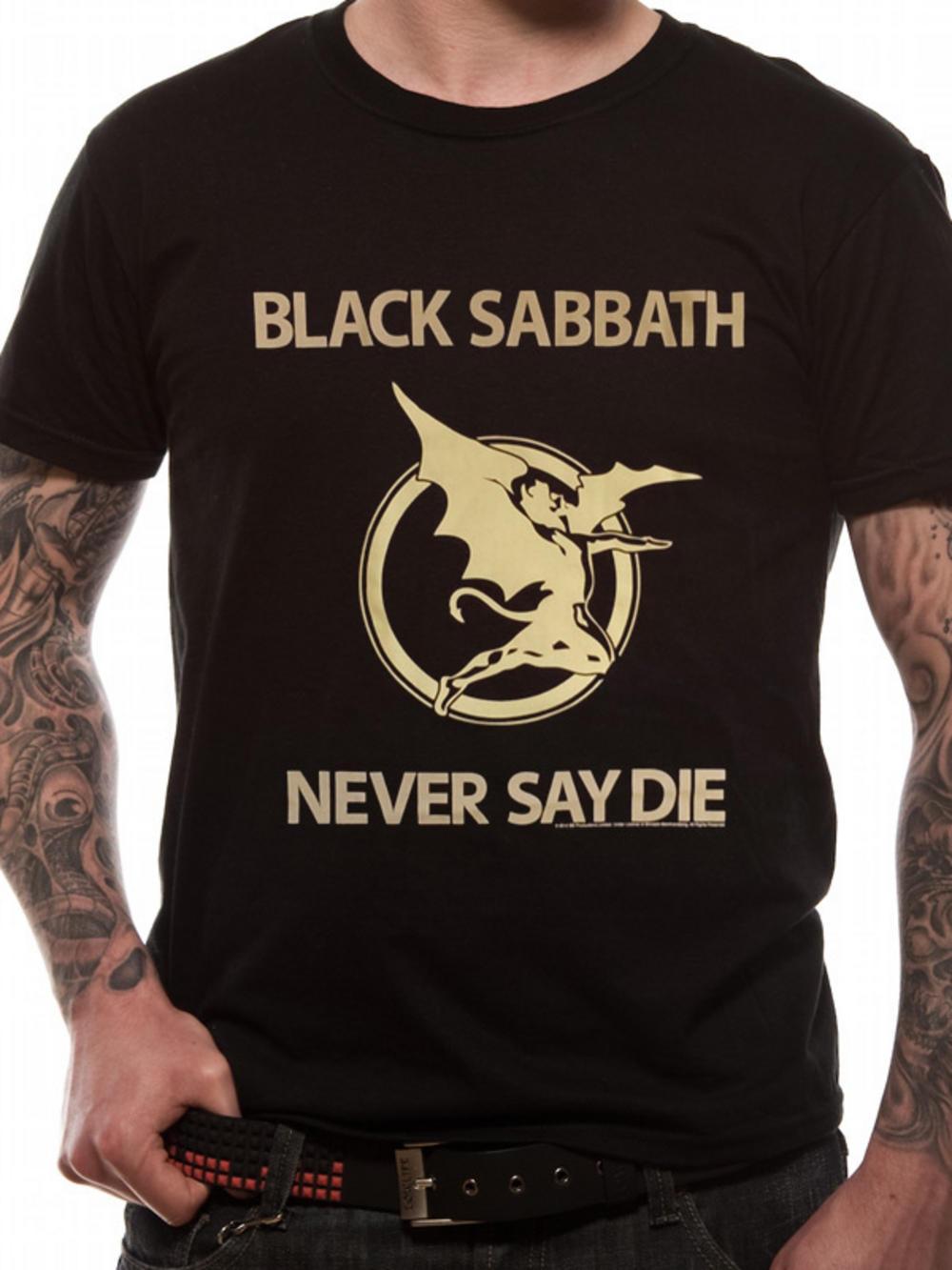 Black Sabbath (Never Say Die) T-Shirt