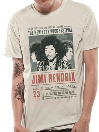 Jimi Hendrix (Experience NY Rock) T-Shirt Thumbnail 1