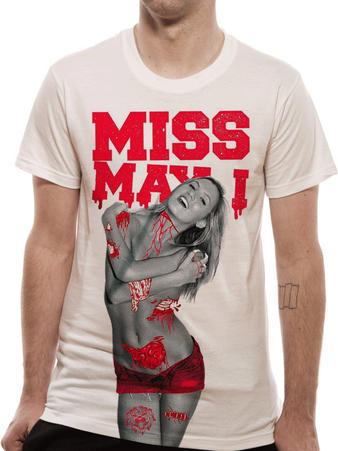 Miss May I (Gore Girl) T-Shirt Preview
