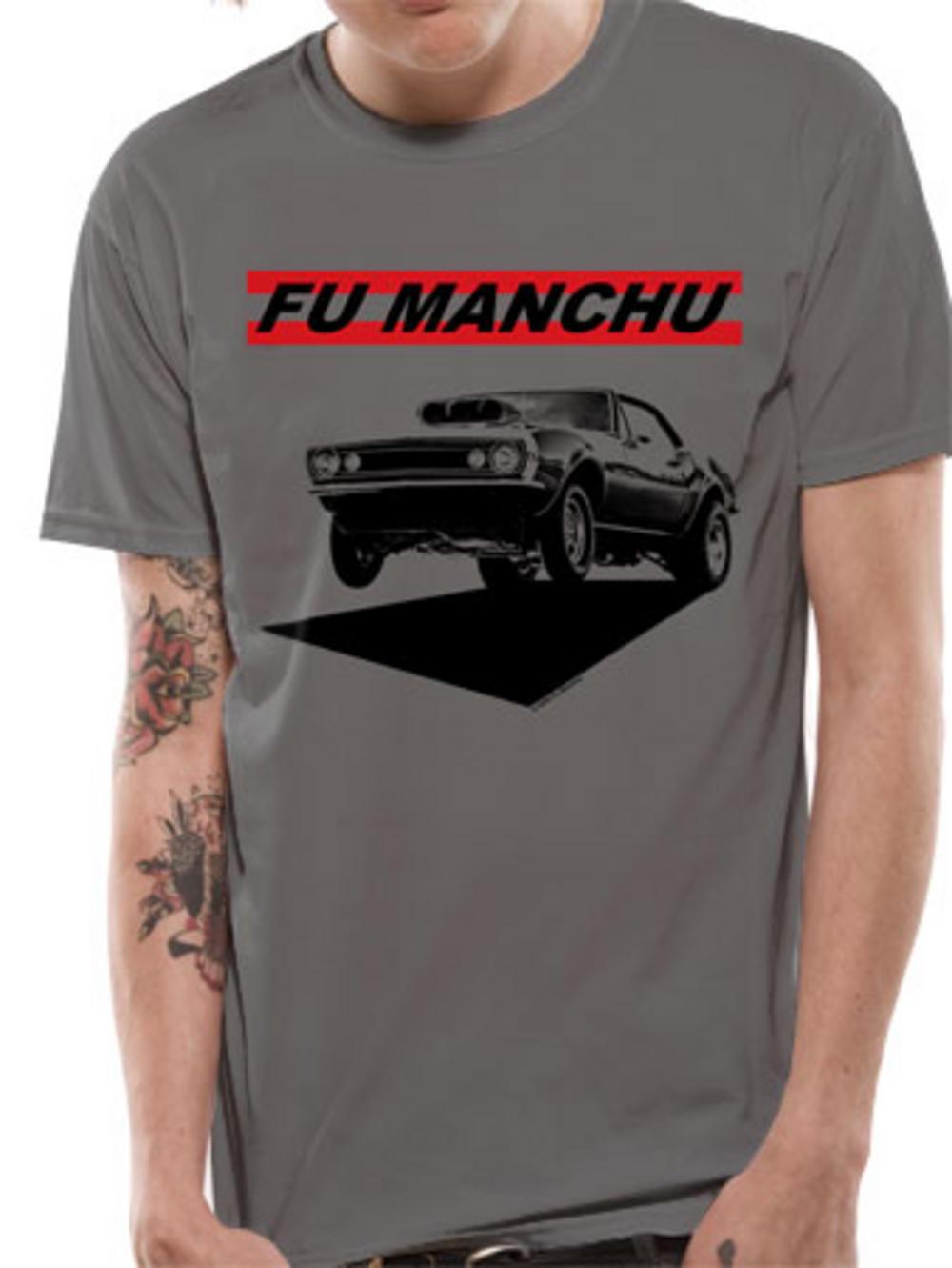 Fu Manchu (Muscle) T-Shirt