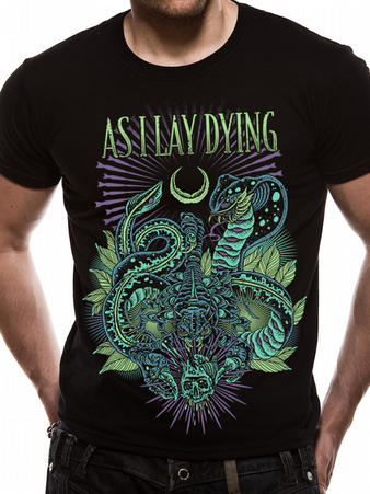 As I Lay Dying (Snakes) T-Shirt Preview