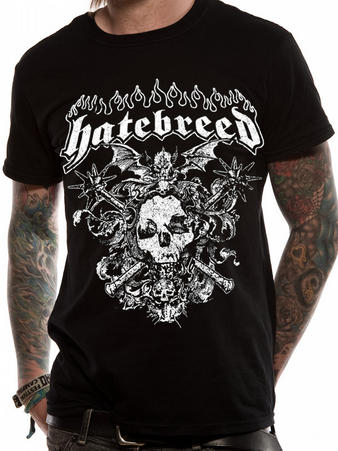 Hatebreed (Axe Skull) T-Shirt Preview