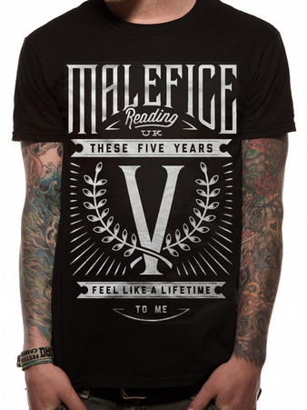 Malefice (Five Years) T-Shirt Preview