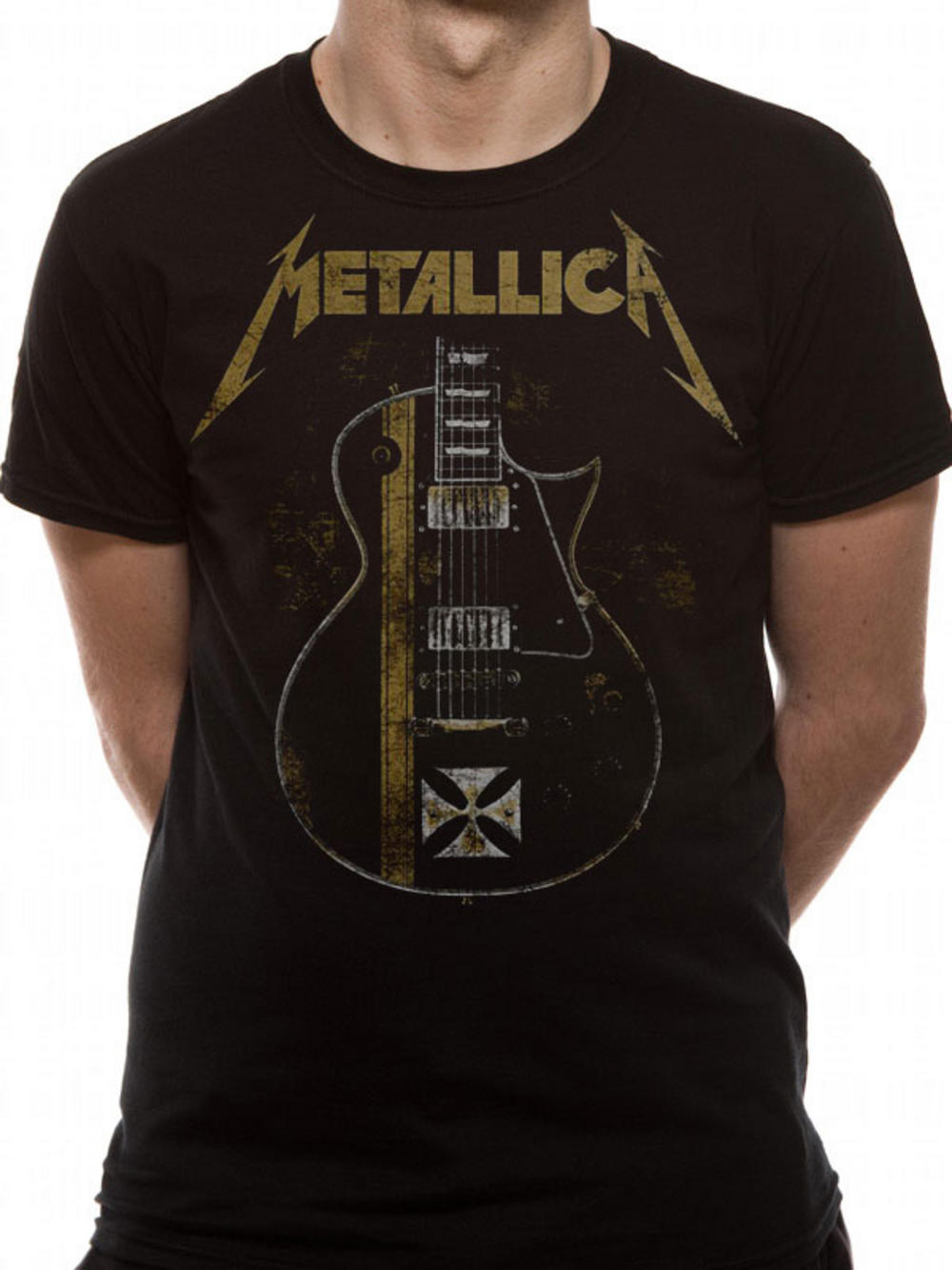metallica hetfield iron cross t shirt tm shop. Black Bedroom Furniture Sets. Home Design Ideas