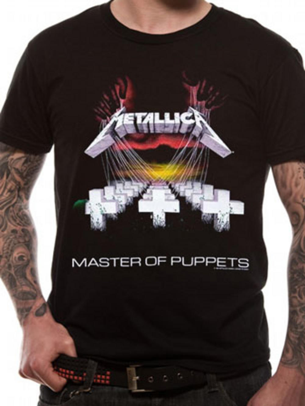 metallica master of puppets t shirt tm shop. Black Bedroom Furniture Sets. Home Design Ideas