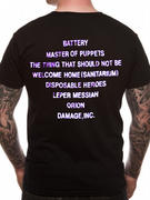 Metallica (Master Of Puppets) T-Shirt Thumbnail 2